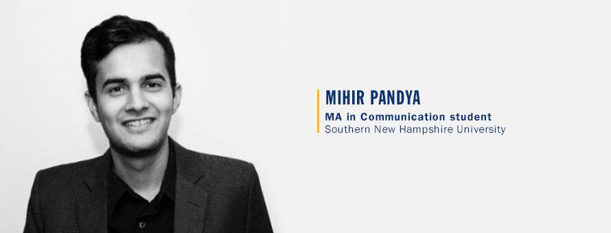 ​An MLS Internship Led to a Communication career for SNHU grad Mihir Pandya